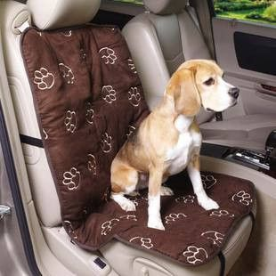 Soft Fabric Featuring Our Signature Pawprint Pattern Covers Cruising CompanionR Single Seat Car Making For Comfortable Travel