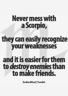 Scorpio & enemies