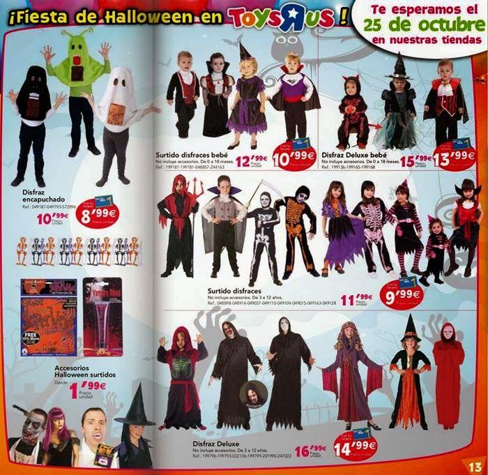 Disfraz infantil para Halloween2014 de Toysrus. Disfraz