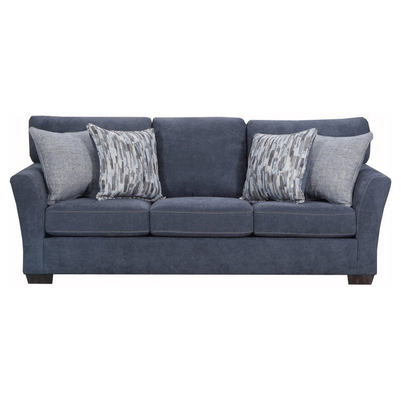 Simmons Upholstery Pacific Queen Sleeper Sofa 7058 04q Pacific Steel Sofa Sleeper Sofa Upholstery