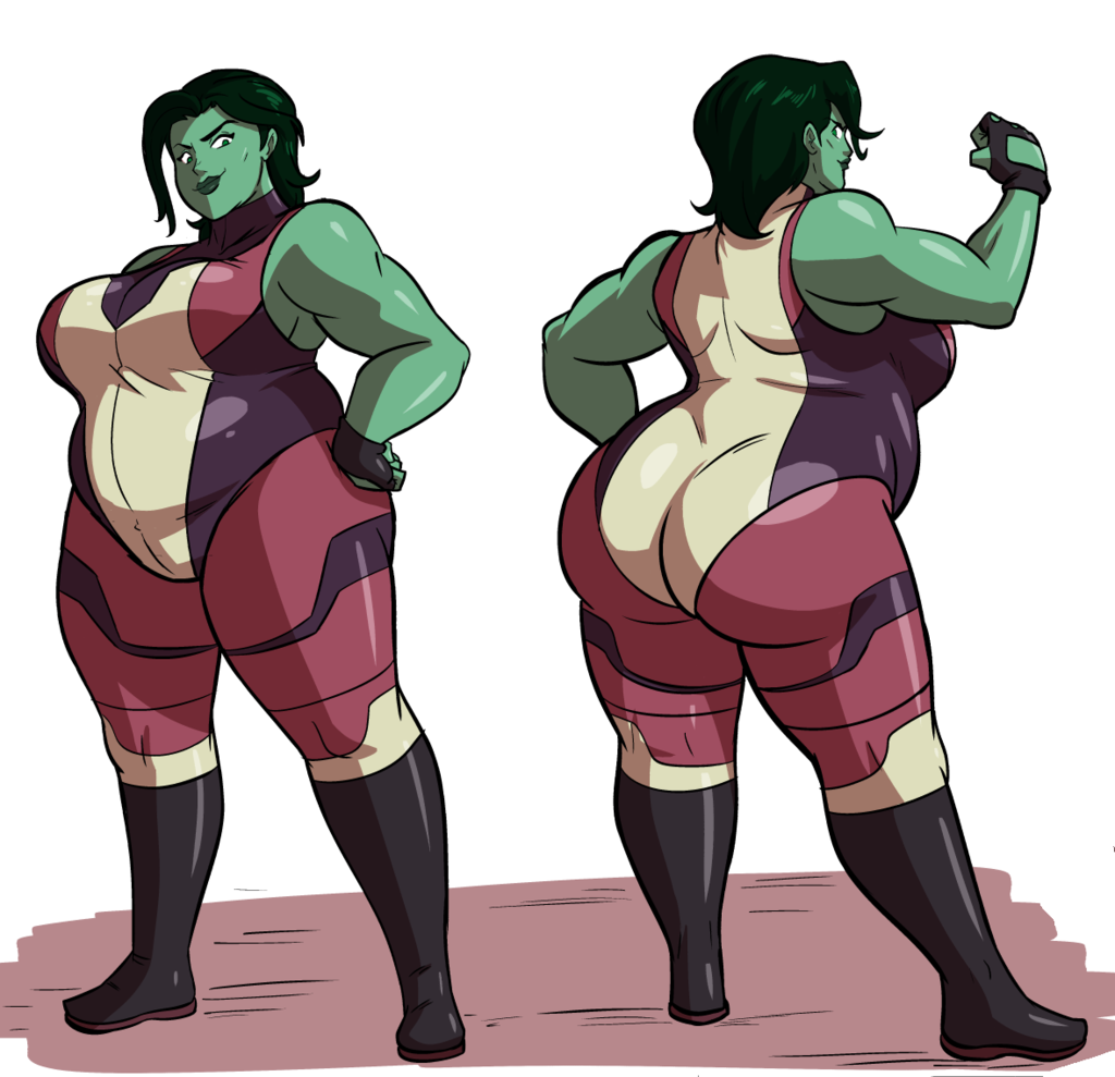 She-Hulk By Axel-Rosered (With Images