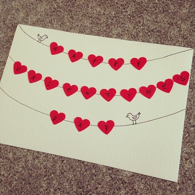 Give Out Some Handmade Love With These 21 DIY Valentines Day – Simple Valentines Day Cards