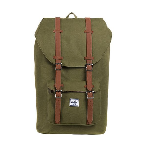 Herschel Supply Co. Little America Laptop Backpack ($90) ❤ liked on Polyvore