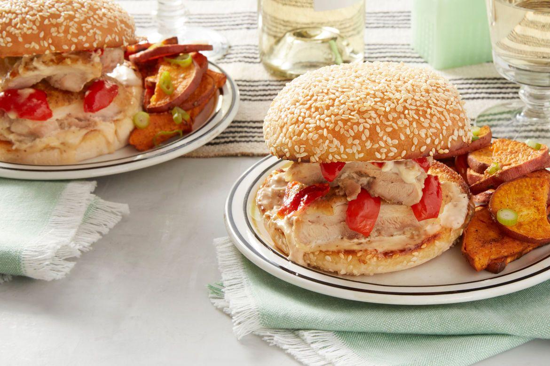 Blue apron yuzu kosho - Spicy Chicken Sandwiches With Alabama White Sauce Roasted Sweet Potato
