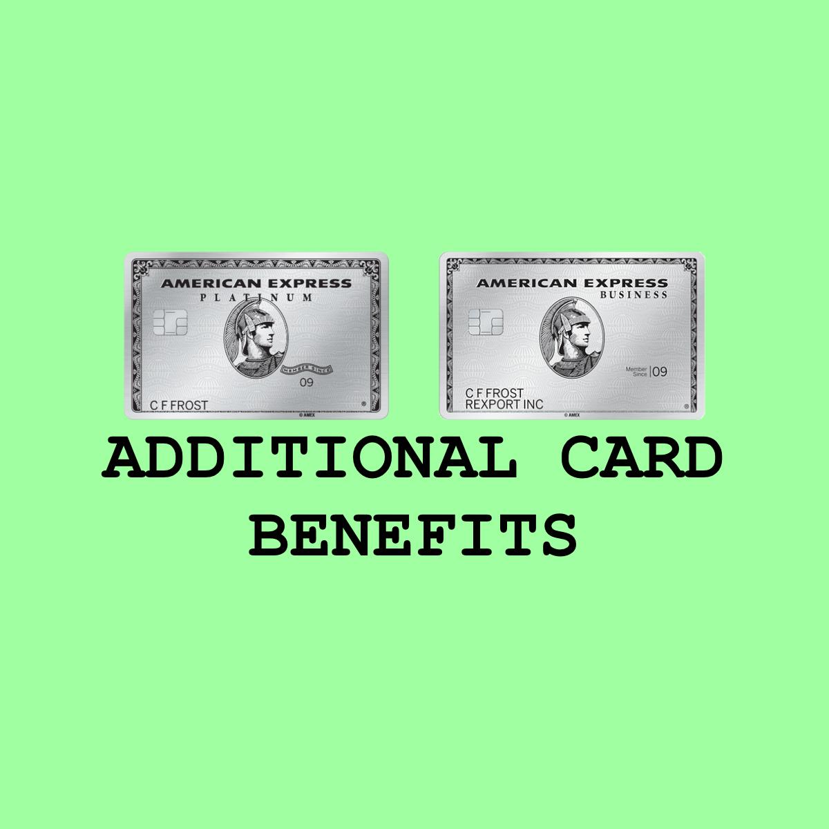 Amex Platinum Business Platinum Additional Card Benefits American Express Business Business Benefit