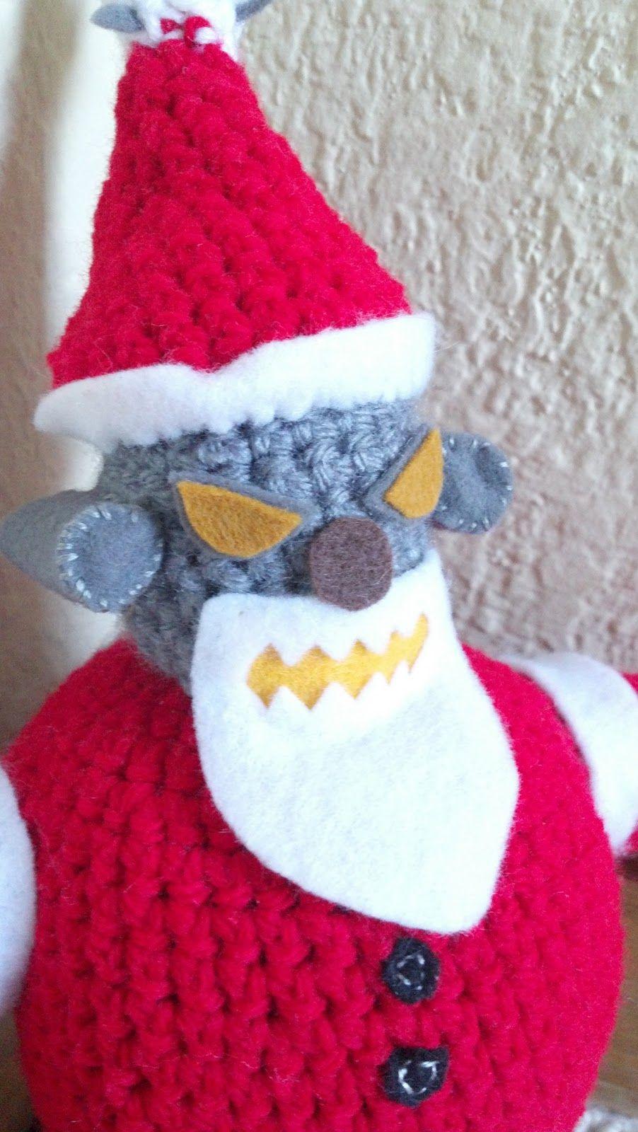 Robat Santa from Futurama. Mostly Nerdy Crochet: \