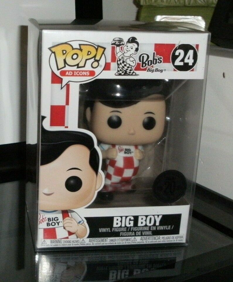 Vinyl Ad Icons 20th Anniversary Bob/'s Big Boy New Pose Funko Pop NEW Bob
