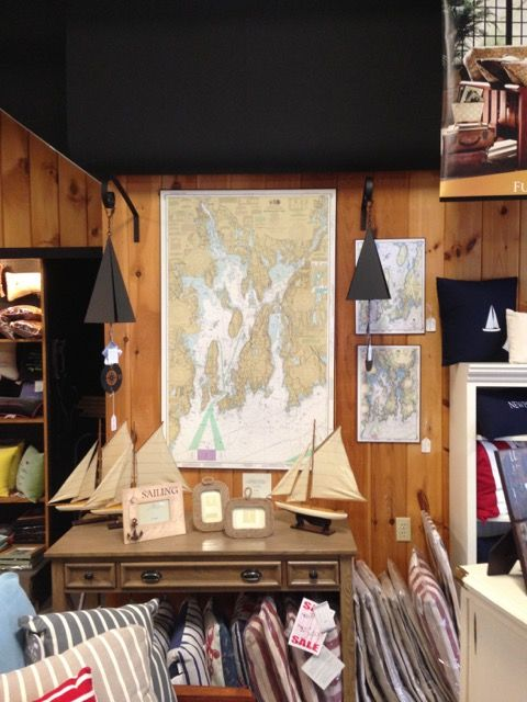 ARTiPLAQ Mounted Narragansett Bay Chart 13223 For Sale At Benu0027s Furniture  In Newport, ...