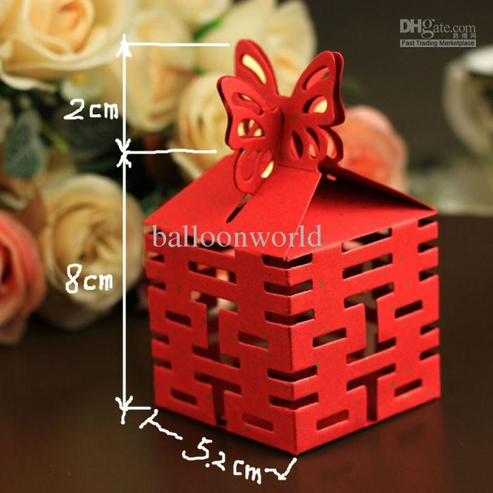 Cheap Wedding Candy Chinese Style Boxes Favours Decorations Party Supply  Gift Boxes 30pcs Per Lot