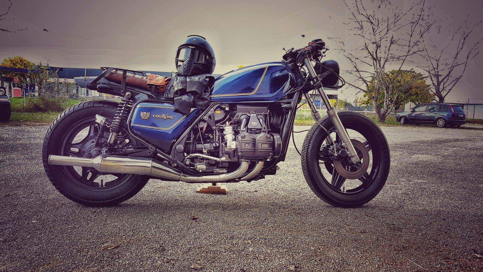 Love it... Goldwing cafe racer