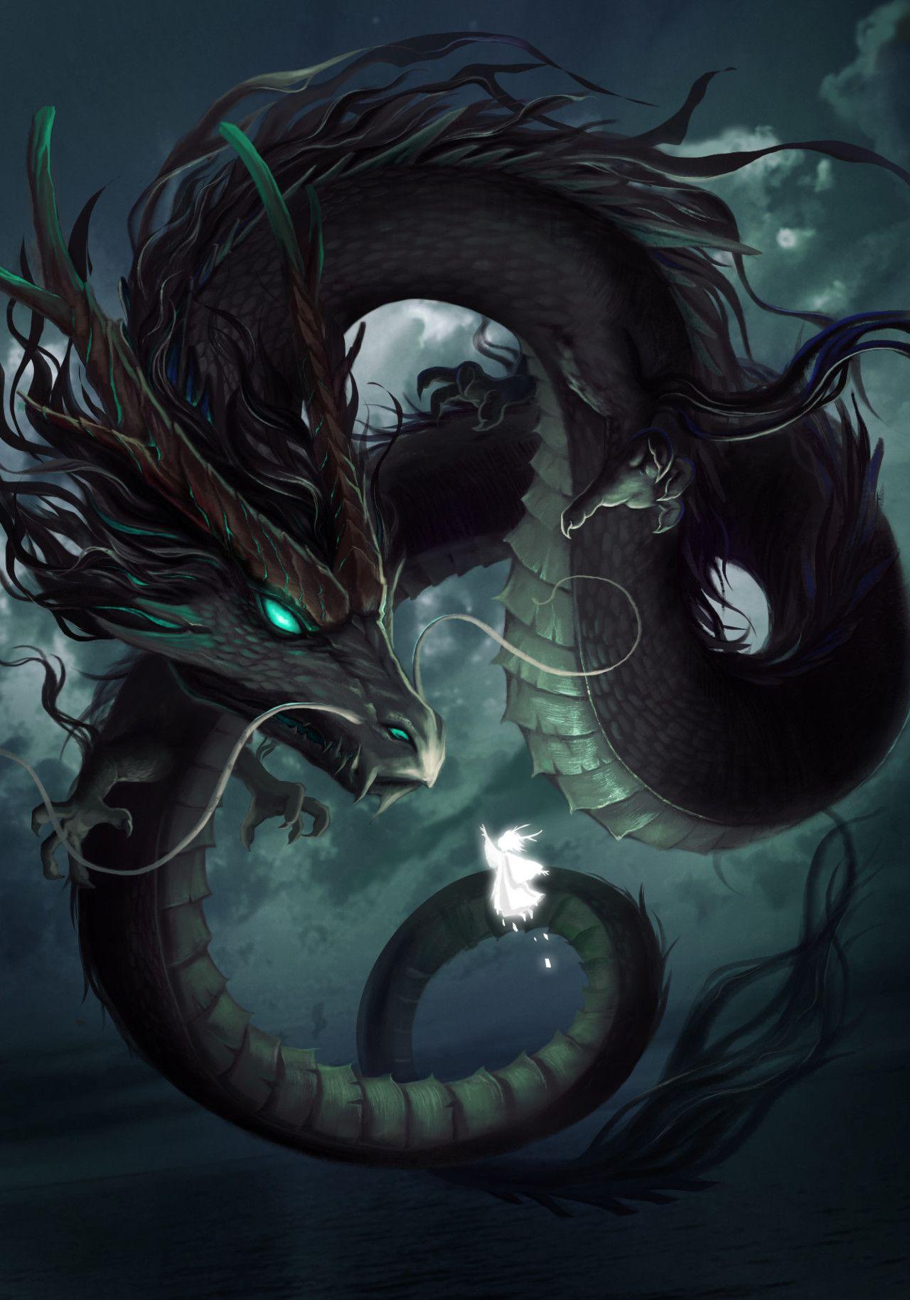 черный дракон китайский картинки уверен телефоне