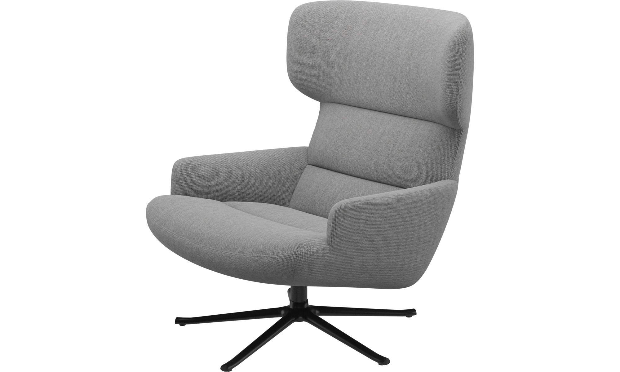 Trento Chair With Swivel Function Armchair Modern Armchair