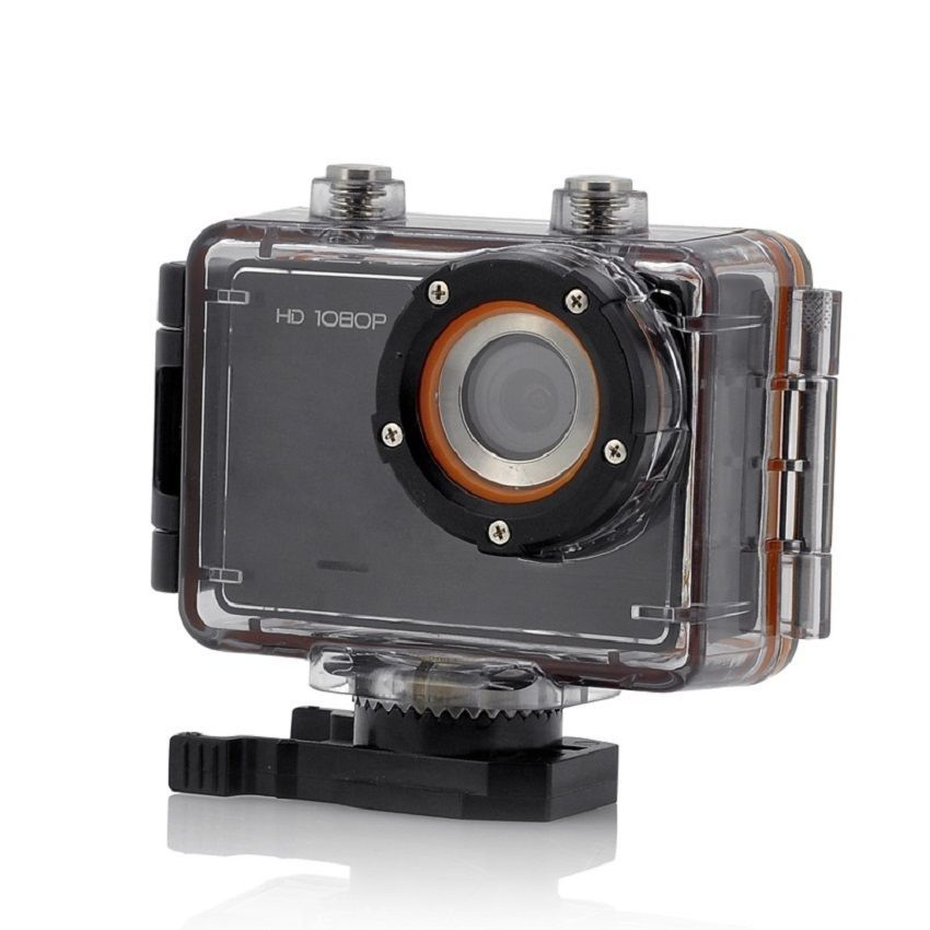 1080p Sports Action Camera Wave 1 5 Inch Display 30m Waterproof G Sensor Sports Action Camera Action Camera Digital Zoom