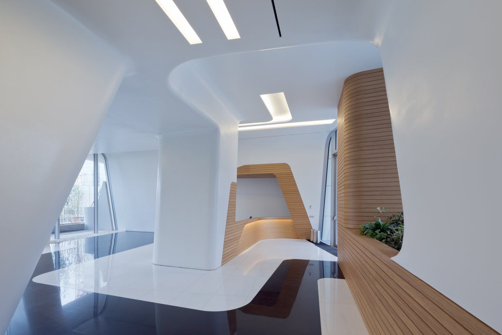 Citylife milano residential complex architecture zaha for Interior design office milan