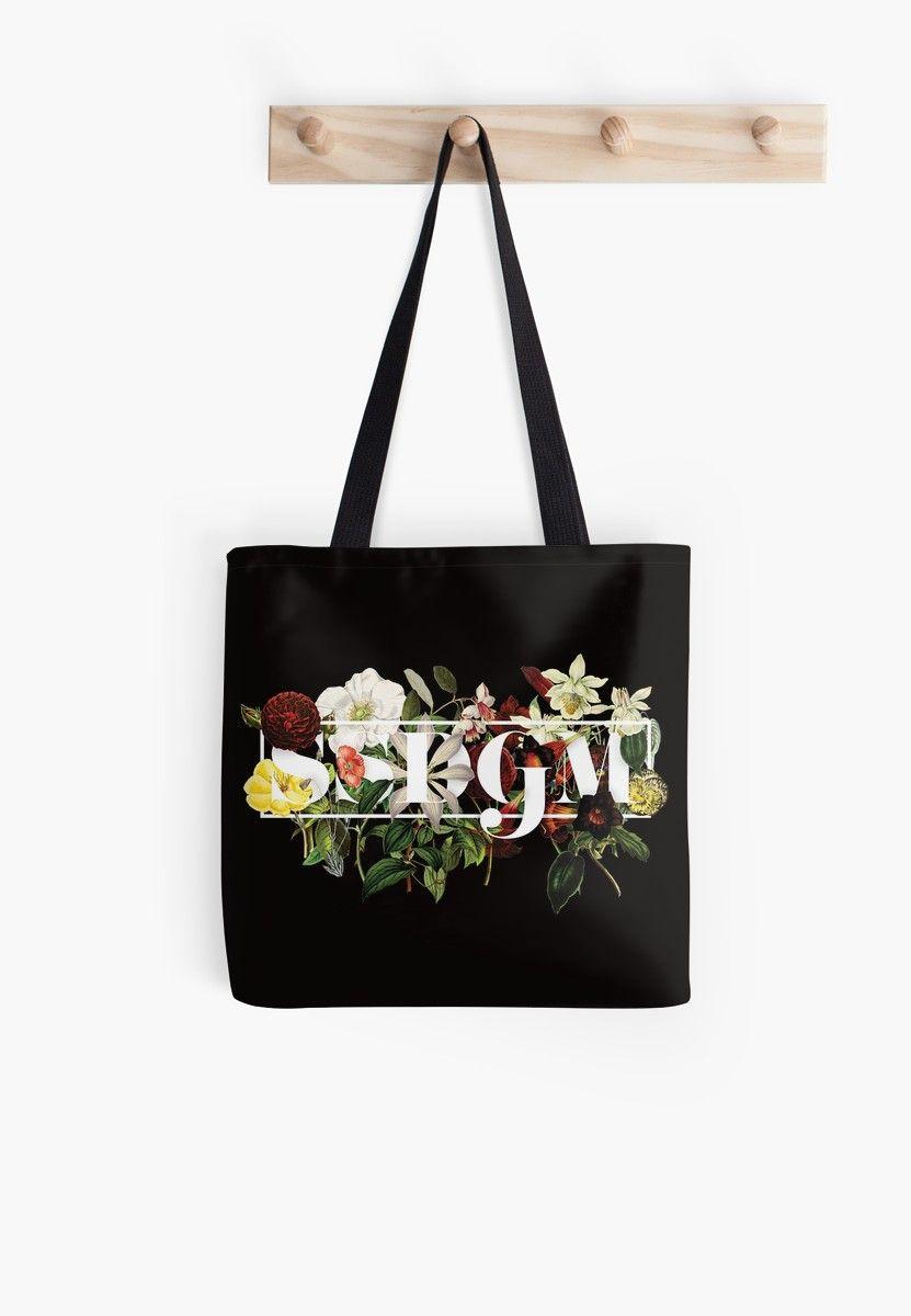 630f1486e SSDGM Murderino Flower Illustration My Favorite Murder Tote Bag ...