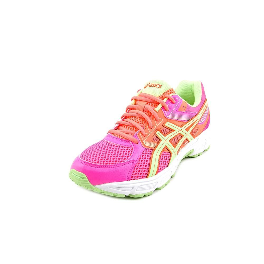 ASICS Gel Contend 3 GS Running Shoe (Little Kid/Big Kid), Hot Pink/Pistachio /Fiery Coral, 7 M US Big Kid
