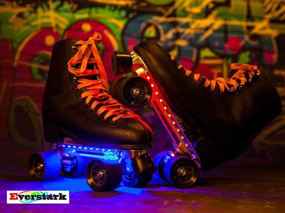 patin roulette led roller quad patinage par everstarkatelier led cirque magique roller patin. Black Bedroom Furniture Sets. Home Design Ideas