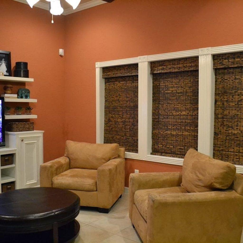 Burnt orange color living room intrinsiclifedesign