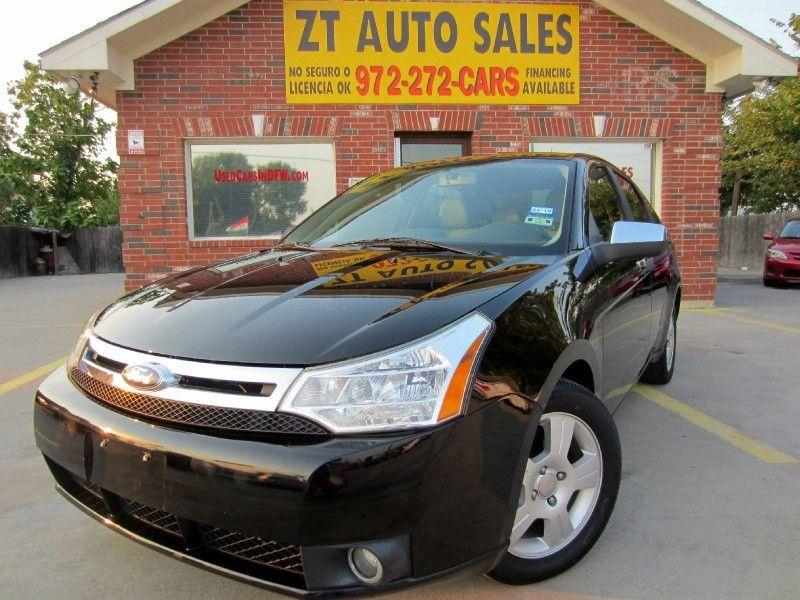 2010 Ford Focus 4dr Sdn Sel Manual Ford Focus Gas Saver Car