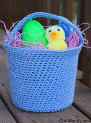 Craftsanity a blog and podcast for those who love everything craftsanity a blog and podcast for those who love everything handmade a crochet easter basket butter tub cozy inspired by great grandma pinterest negle Image collections