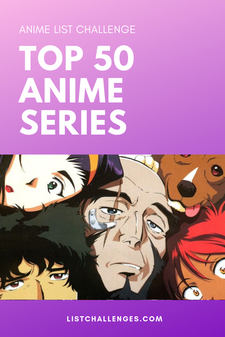 Top 50 Anime Series of All Time Top anime series, Anime