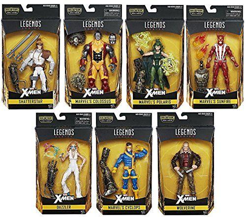 Marvel Legends XMen Polaris Warlock Baf Hasbro