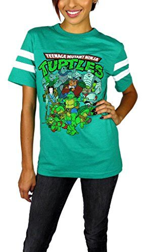 Teenage Mutant Ninja Turtles Womens Varsity Football Tee ... http://www.amazon.com/dp/B00ZVZ84SY/ref=cm_sw_r_pi_dp_Mphvxb0PJ83KA