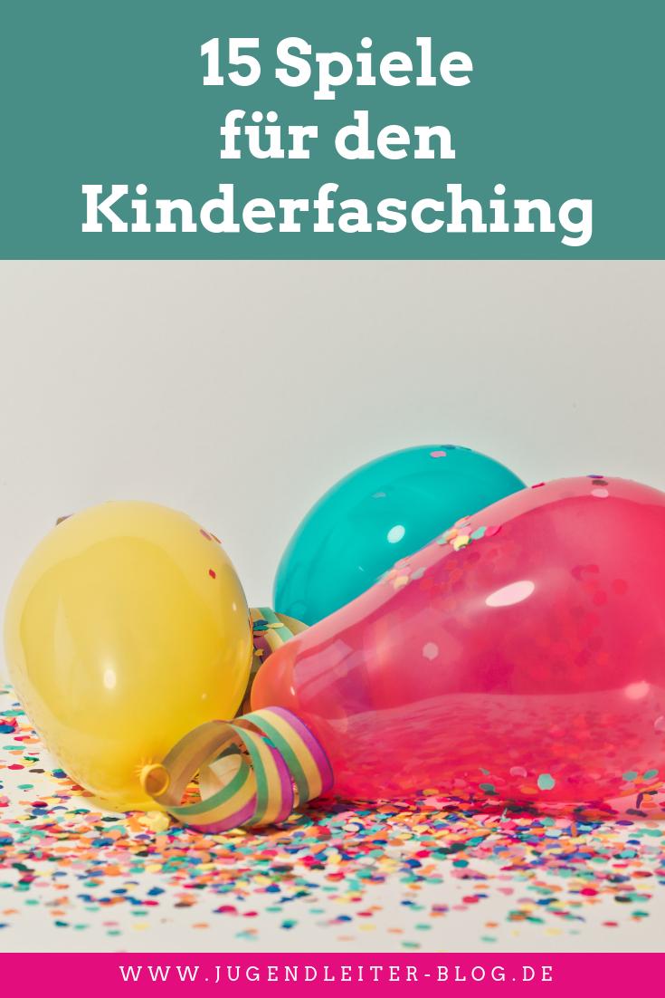 15 Spiele für den Kinderfasching