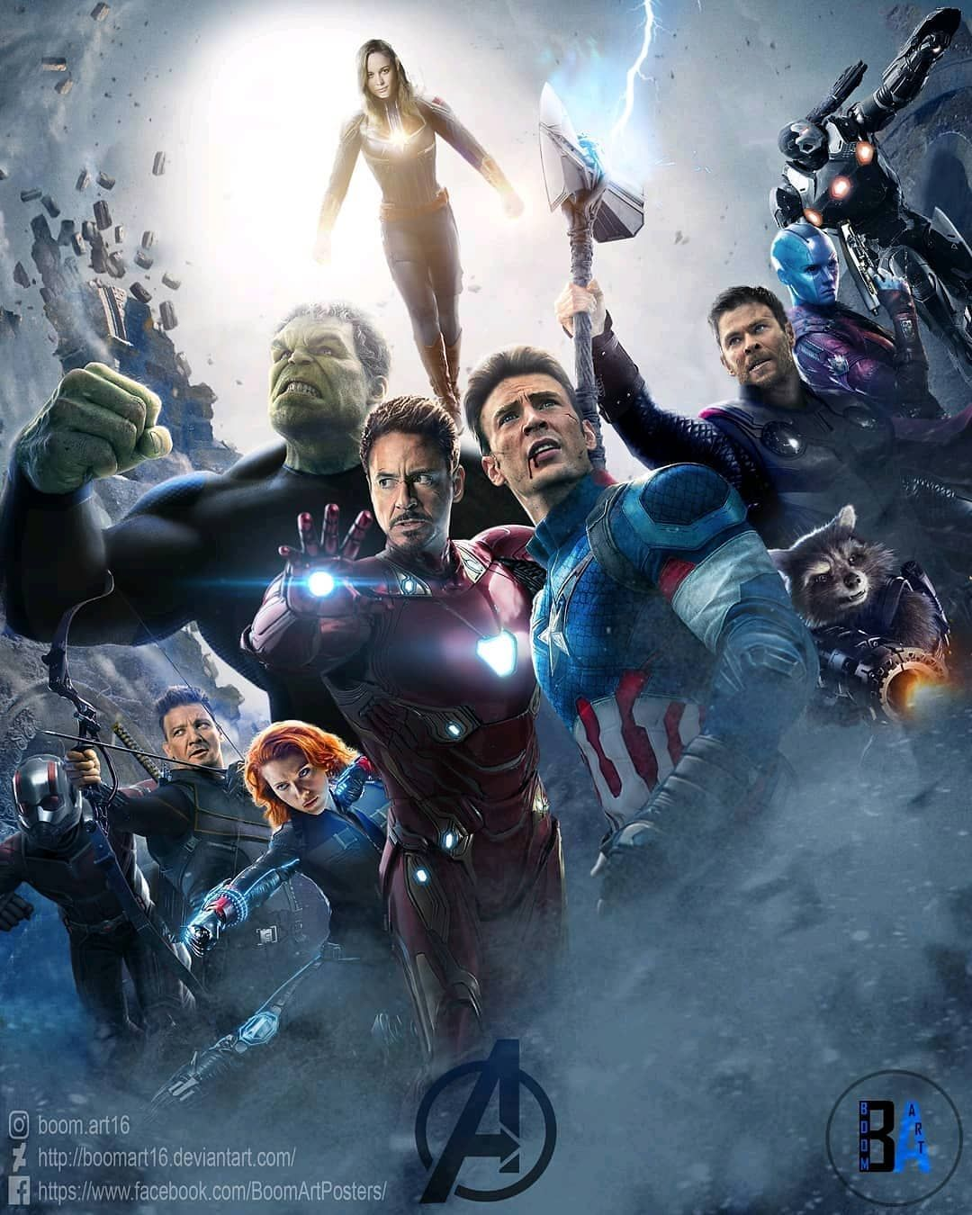 Avengers 4 Art By Boom Art16 Fanmade