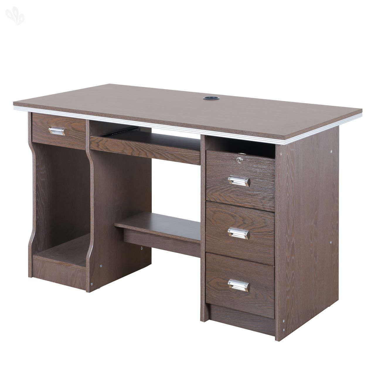 Simple office table design - Royal Oak Acacia Office Table Honey Add Oodles Of Style To Your Home With An Exciting Range Of Designer Furniture Furnishings Decor Items And