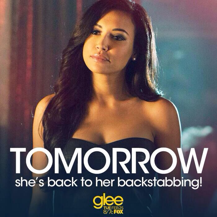 Glee is back tomorrow at 8/7c!yipiiiiii