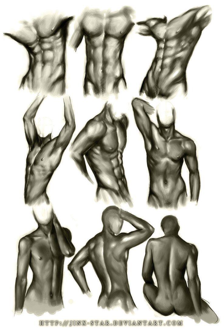Male Body Study III\