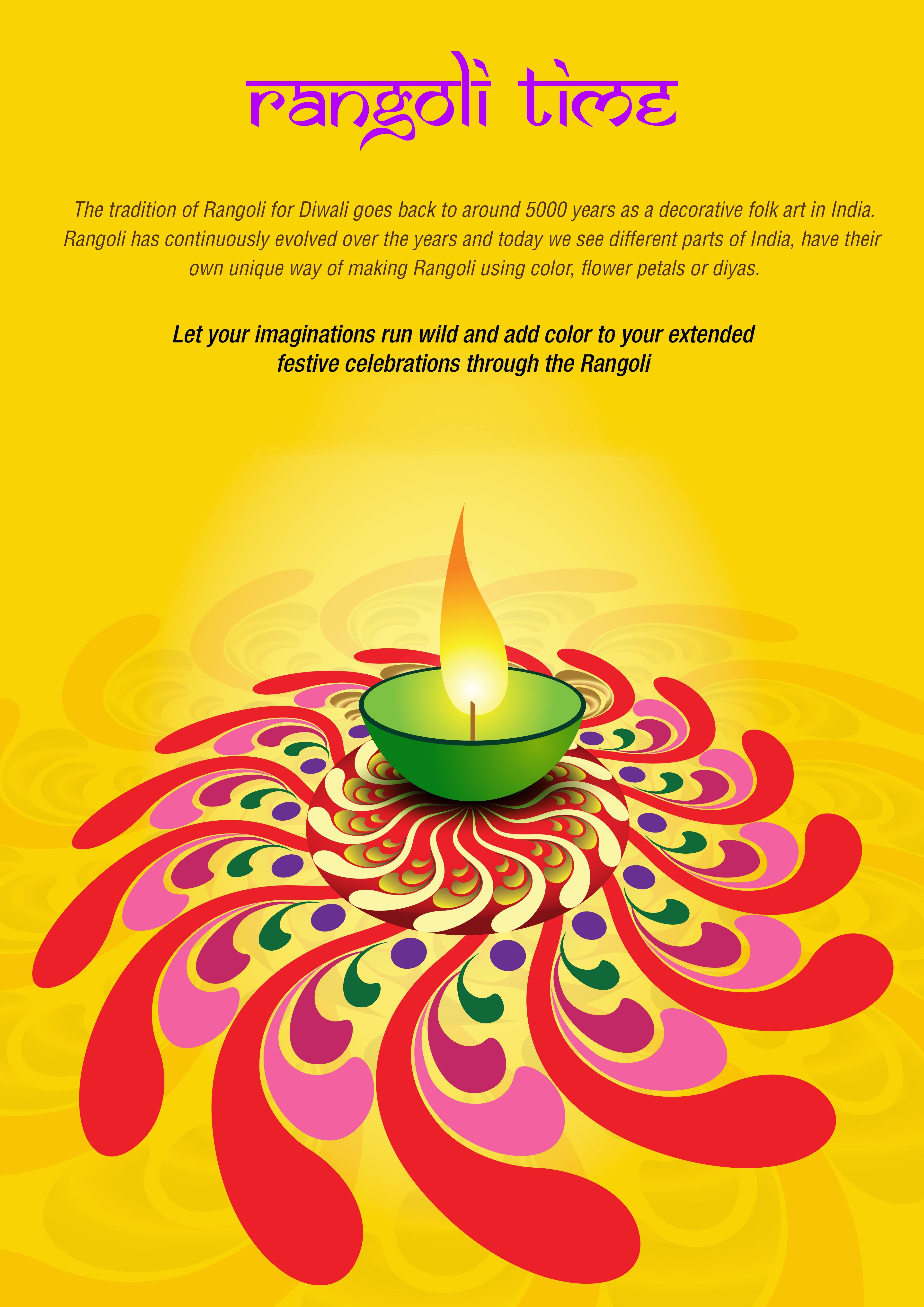 Neev celebrated Diwali with a Rangoli competition. Rangoli