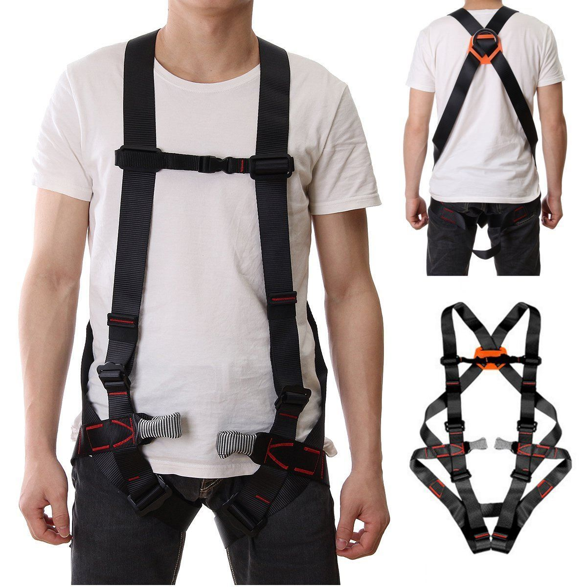 Hot Outdoor 800KG Climbing harnesses Safety Rappelling