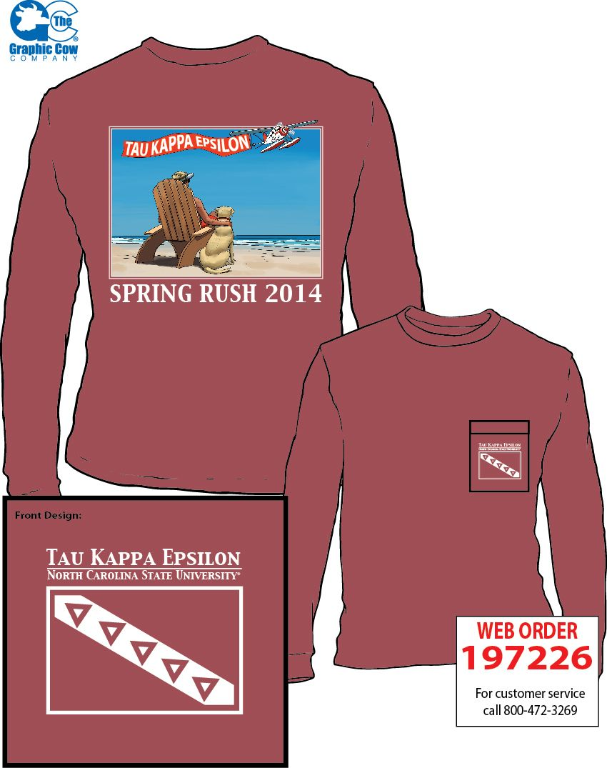 taukappaepsilon #rush #beach design | t-shirt ideas | pinterest