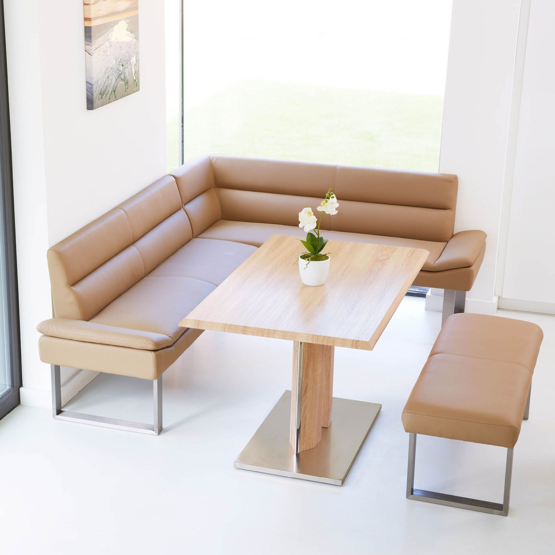 Lewis Corner Bench Dining Collection