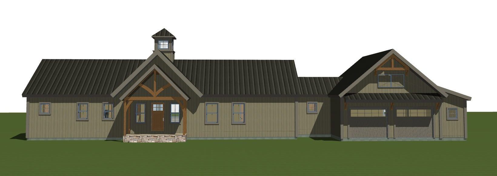 New Barn House Plans Boulder Meadows