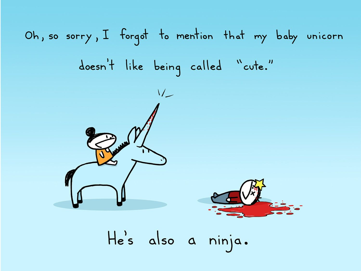 Narwhal and unicorn cartoon narwhal jokes funny pictures - Cartoon