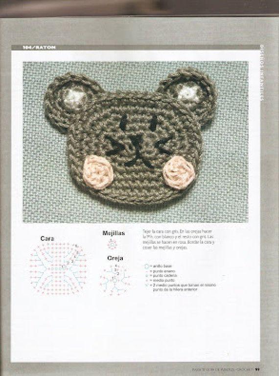 Crochet sólo con paso a paso o video (pág. 703)   Aprender ...