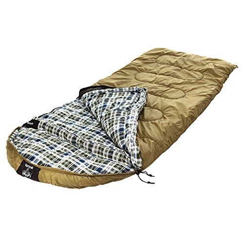 Venetian Worldwide Grizzly Private Label 0 Degree Ripstop Sleeping Bag Auburn Brown Visit The Image