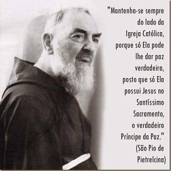 Frases De São Padre Pio De Pietrelcina Citações Religiosas