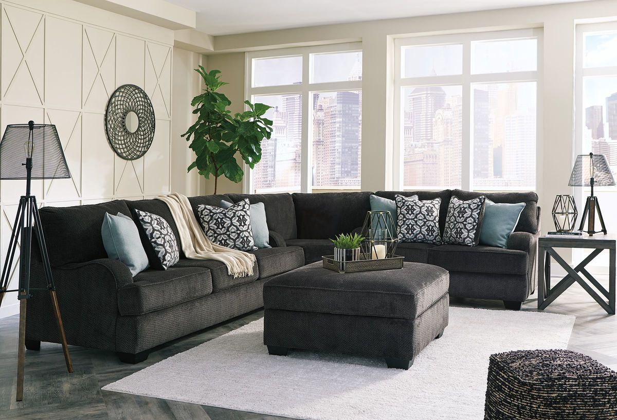 Best Ashley Charenton Charcoal Sectional In 2019 Charcoal 640 x 480
