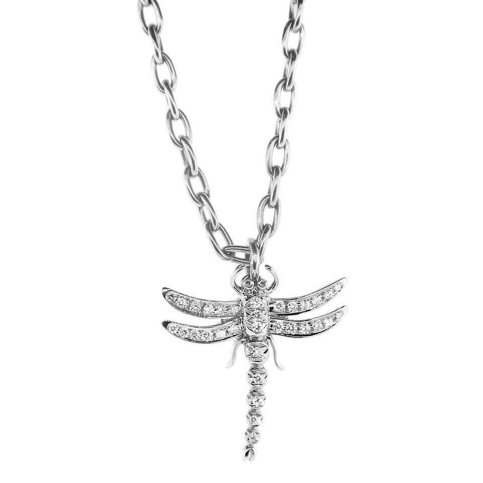 728c214f5041 ... vergleichen und günstig kaufen. Tiffany   Co. Platinum Dragonfly  Necklace