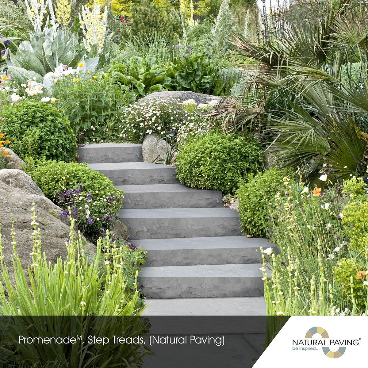 Promenade, Step Treads   Landscape Garden Ideas   Landscapes ...
