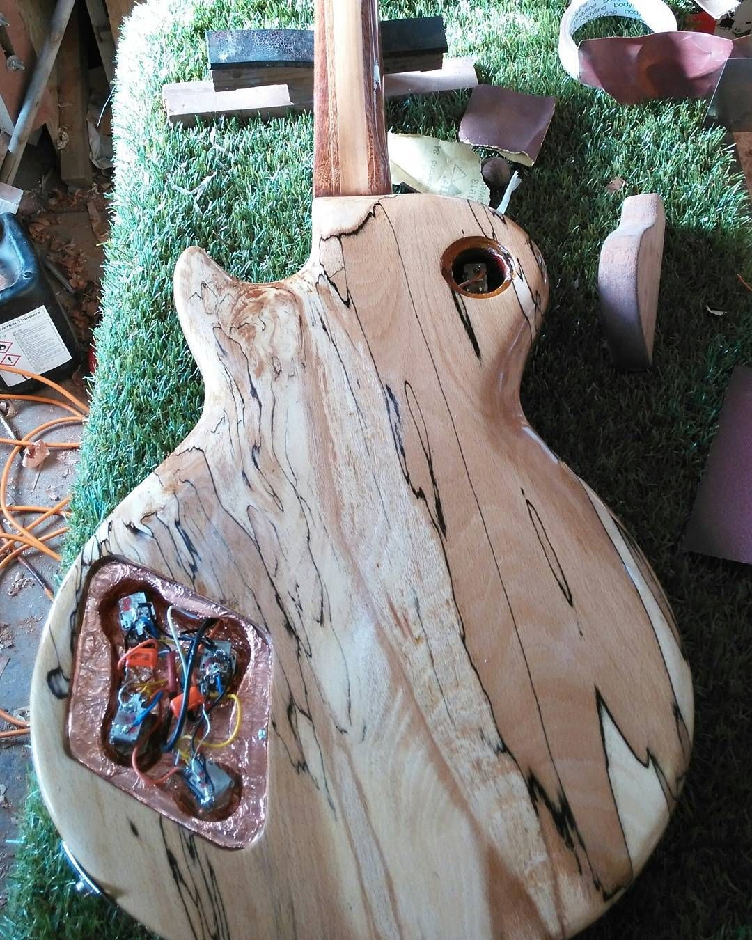 Bear Wood Porn and the back. magnetic pickup covers (which i cant find