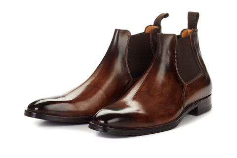 Italian Leather Boots Chelsea Boots Boots Dress Shoes Men