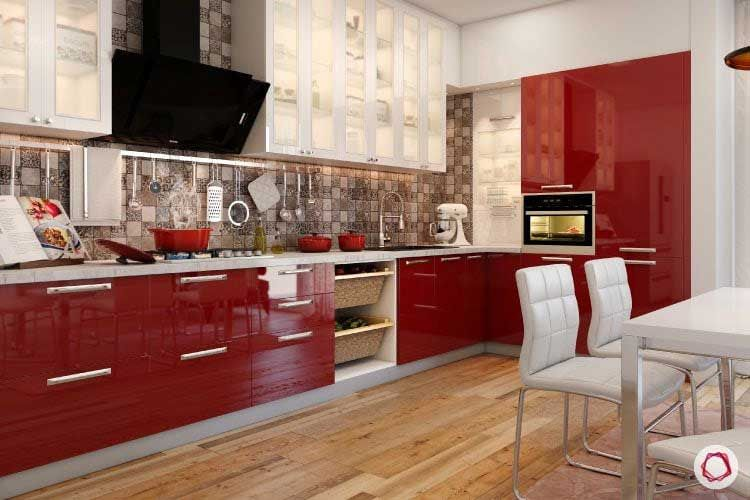Best Rated Kitchen Cabinets These Are The Most Popular Kitchen Cabinet Colors And Styles Kitchen Cabinet Design Kitchen Cabinet Trends Red Kitchen Cabinets Most popular kitchen room decoration