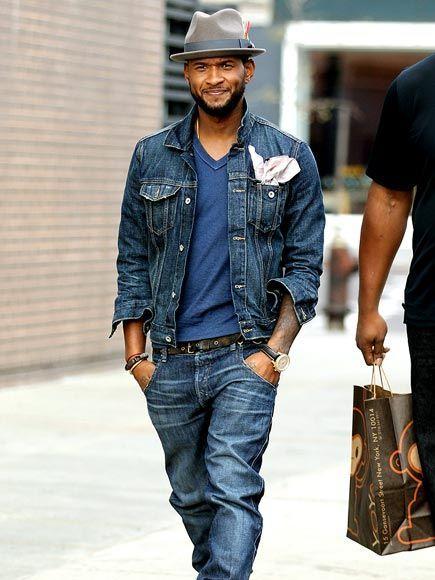 b1a2f264a63 Usher style! Upright