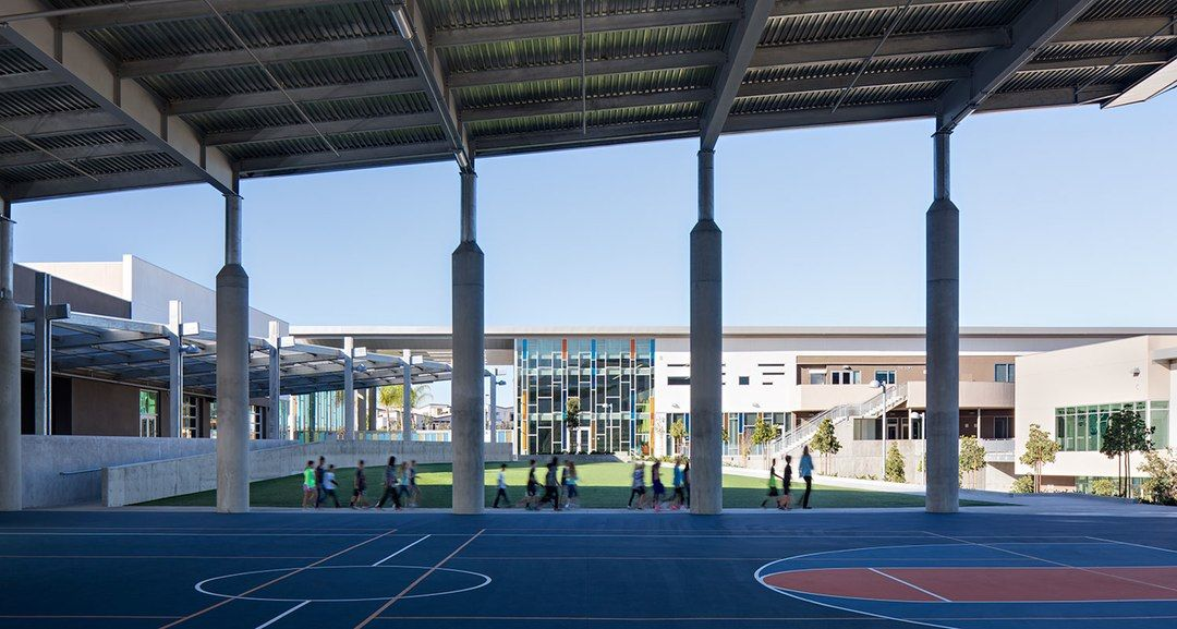 All project Photography Copyright Zack Benson Photography  The campus is designed to provide for and enrollment of 1,500 K 8 students in a highly integrated...