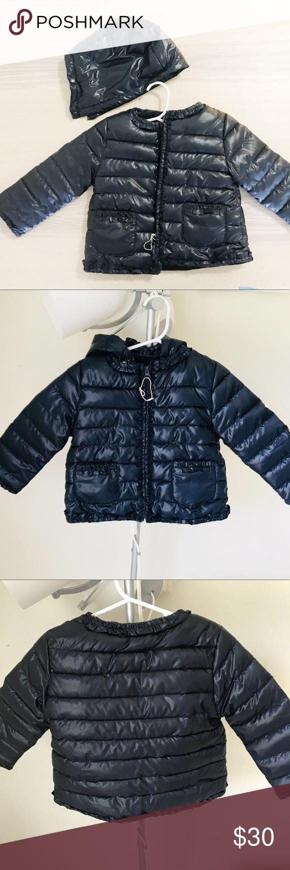 eaf0c82a5b1c Zara baby girl 12-18 months puffer coat NWT